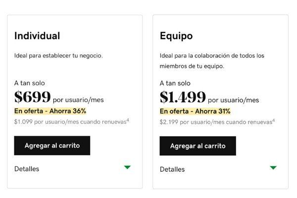 Planes de correo personalizado de GoDaddy Chile